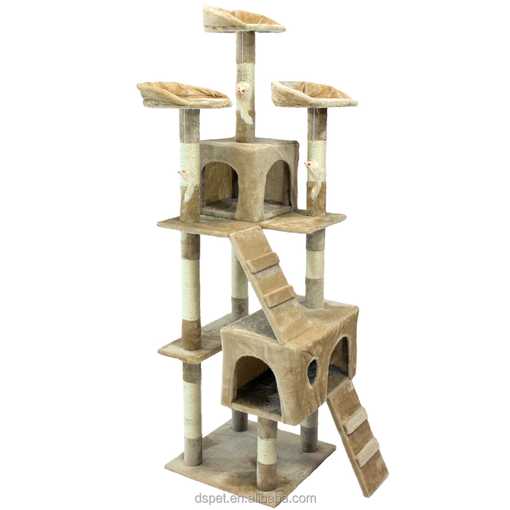 dc1077b122ff Dspet Factory Cat Tree Tower Condo Climing Scratcher Furniture Kitten House  Scratching Sisal Post