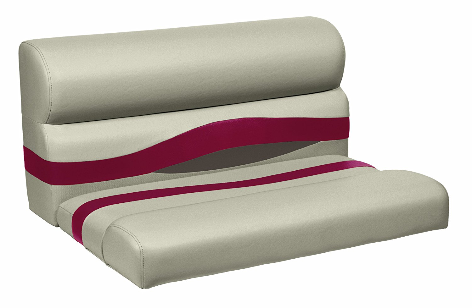 Wise Premier Series Pontoon 27-Inch Bench Seat, Cushions Only