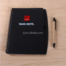Environmental quality of conventional coil with pen notebook