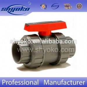 Shyoko Good Quality Competive Price Plastic Valve PVC Ball Valve UPVC True Union Ball Valve