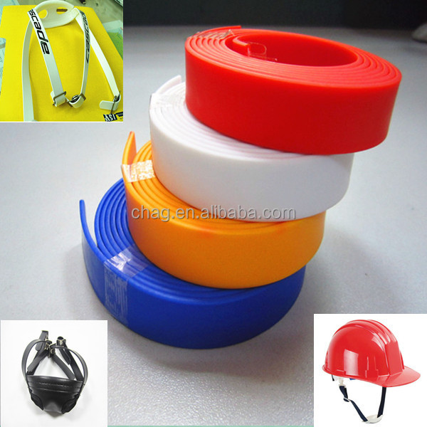Comfortable Pvc Webbing Chin Strap For Assorted Motorcycle/Safety Helmet