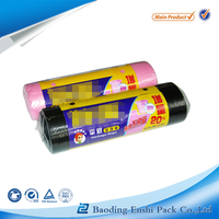 factory manufacture trash biodegradable plastic garbage bag on roll