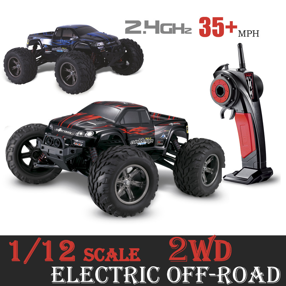 Gptoys Rc Car S911 Off Road 1 12 Scale Supersonic Explorer Monster 2 4g With Wheel Driven Electric Racing Truggy