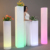 square plastic color changing flower blossom pot led glow mambo