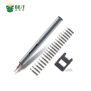 BST-9911B High Quality Portable Mini Cordless Magnetic Pen Power Electric Cordless Screwdriver for Cellphone Laptop Repair Tools
