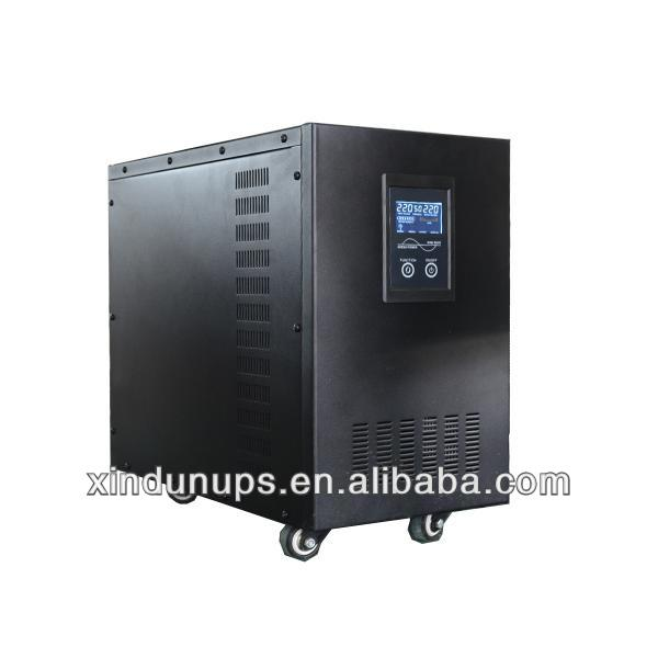 7000W with charger and UPS function solar inverter generator