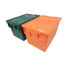 Nestable plastic moving box warehouse storage plastic box