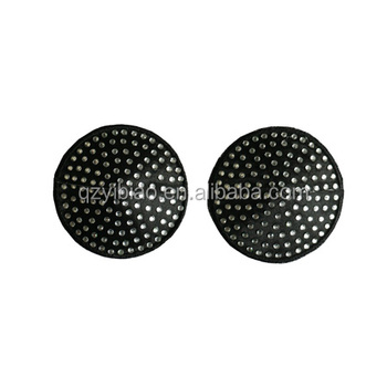 bbaacede4b5bd Wholesale cheap nipple covers black and white diamond heart shape sequin Nipple  pasties