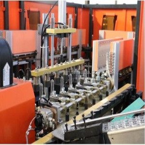 Fully automatic extrusion blow molding plastic pet bottle blowing machine price