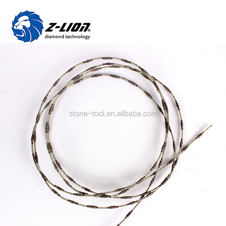 2.4mm Small Diameter Diamond Wire Saw For Stone Cutting - Buy ...