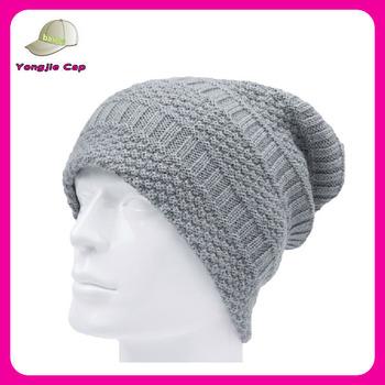 014d04eb6fc 100 Acrylic Long Beanie Hat Korean Winter Knitted Hat For Men - Buy ...