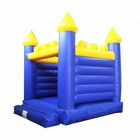TOP inflatable square bouncer fun city bouncy jumping trampoline castle for kids party supply events