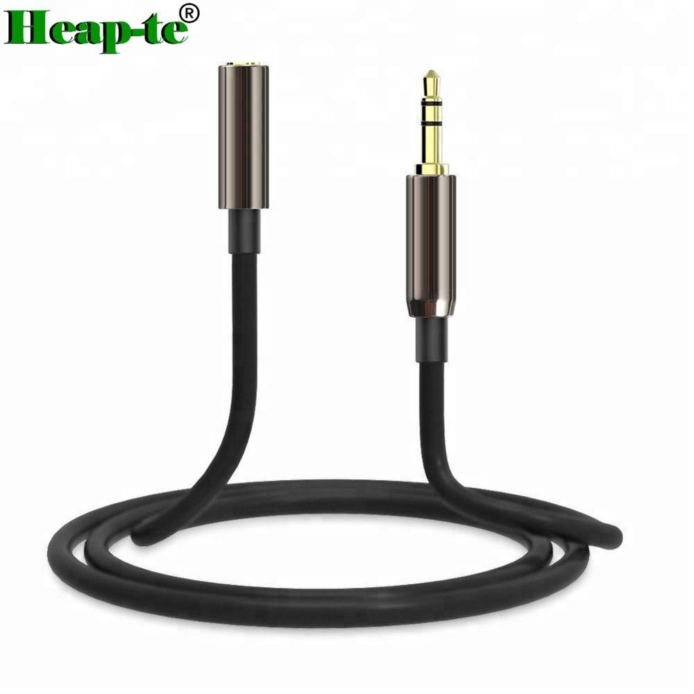 3.5mm Male to Male Stereo Jack Headphone Audio Extension Lead Cable Wire 1M