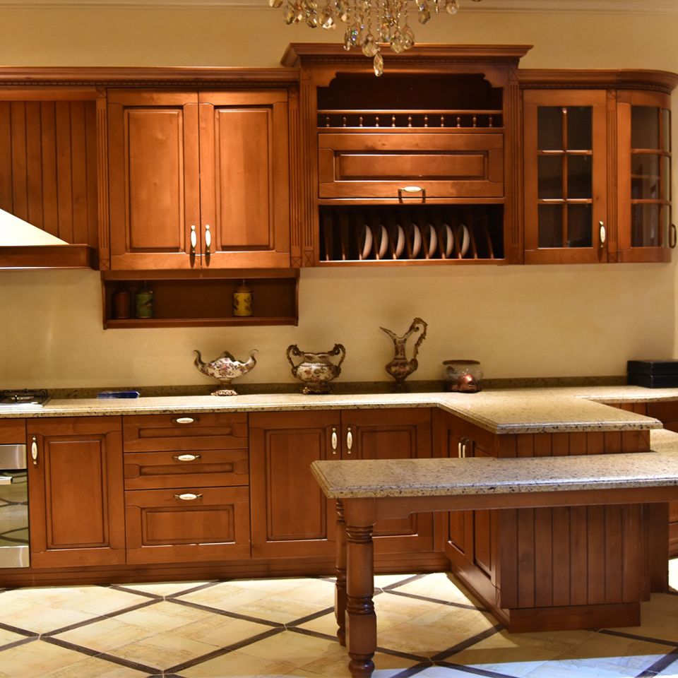 new arrival antique wood modular walnut kitchen <strong>cabinets</strong>