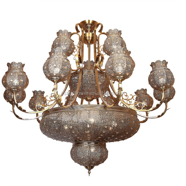 Buy cheap china hanging decorative chandeliers products find china fast delivery antique big chandelier islamic hanging lamp for indoor decoration aloadofball Image collections