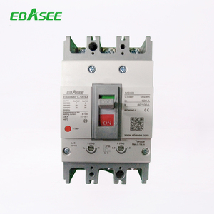 Home, Office Use AC 500V, AC 800V Sliver Contacts mccb earth leakage circuit breaker