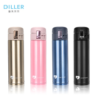 Hot sale 500ml travel design double wall 304 double wall stainless steel vacuum thermos flask