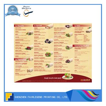 elegant drink menu card design and printing buy menu card design