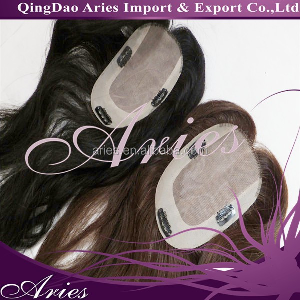 Human hair toppers,toupees for women,european hair toppers