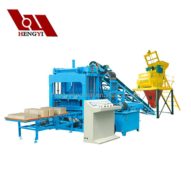 Best Selling Construction Equipments QT4-15 clay brick making machine price in india/hollow block machine for sale in cebu