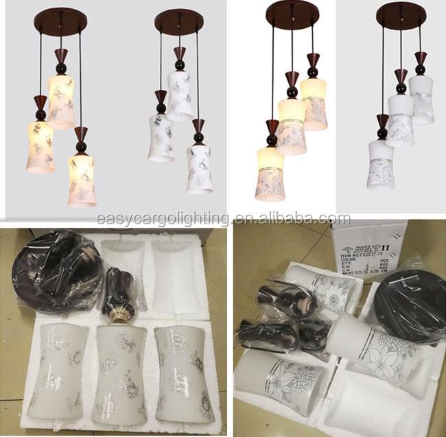 Bajo Precio Moderno De Vidrio Colgante Lámparas Comedor Deco Habitación  Colgando Luces (fx2233-3p) - Buy Lámparas Colgantes De Vidrio,Luces  Colgantes ...