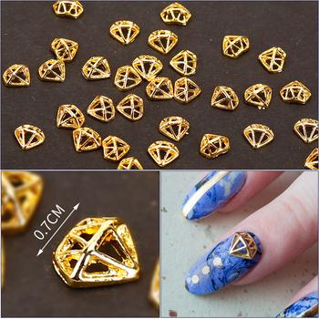 New Design Gold Shining Zinc Alloy Bracelet Nail Art Designs Alloy