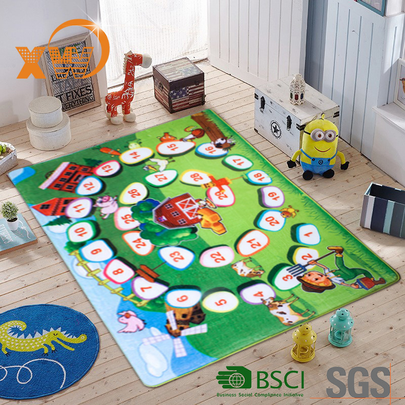XINGWANG Kids rugs thick foam sleeping baby care crawling nap floor children play mat
