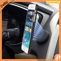Extra Slim 8.8mm Rubber Oil Powerful Magnetic Flat Stick Car Mount Mobile Phone Holder