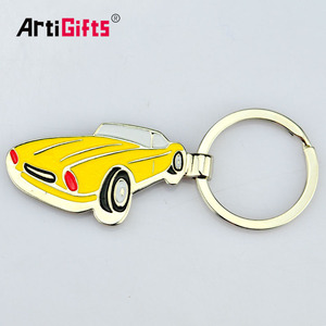 Cheap Classic Luxury Customized Toy Car Metal Model Parts Brand Logo Keychain