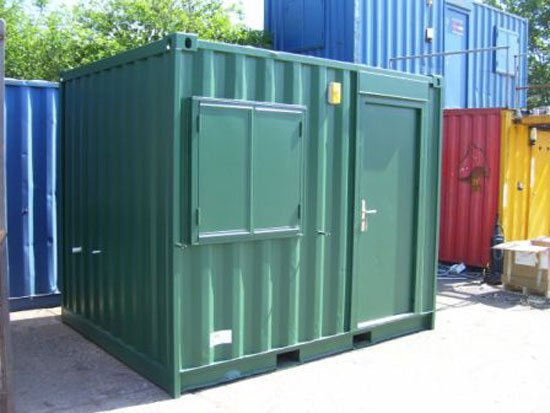 40' Container Workshop With Shelves Cabinet,Lights - Buy Container ...