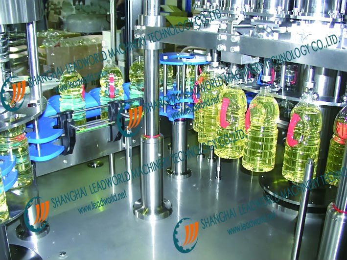 Automatic Oil Weighing& filling and Capping Line