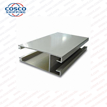aluminium square tube extrusion profile