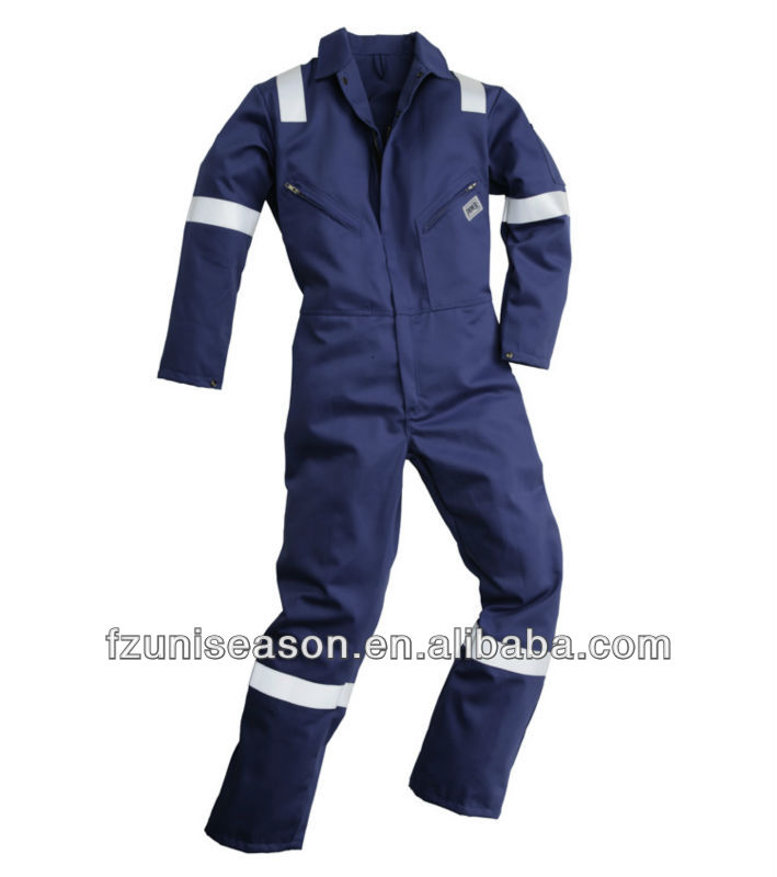 Uniseason safety firefighter working coverall suit