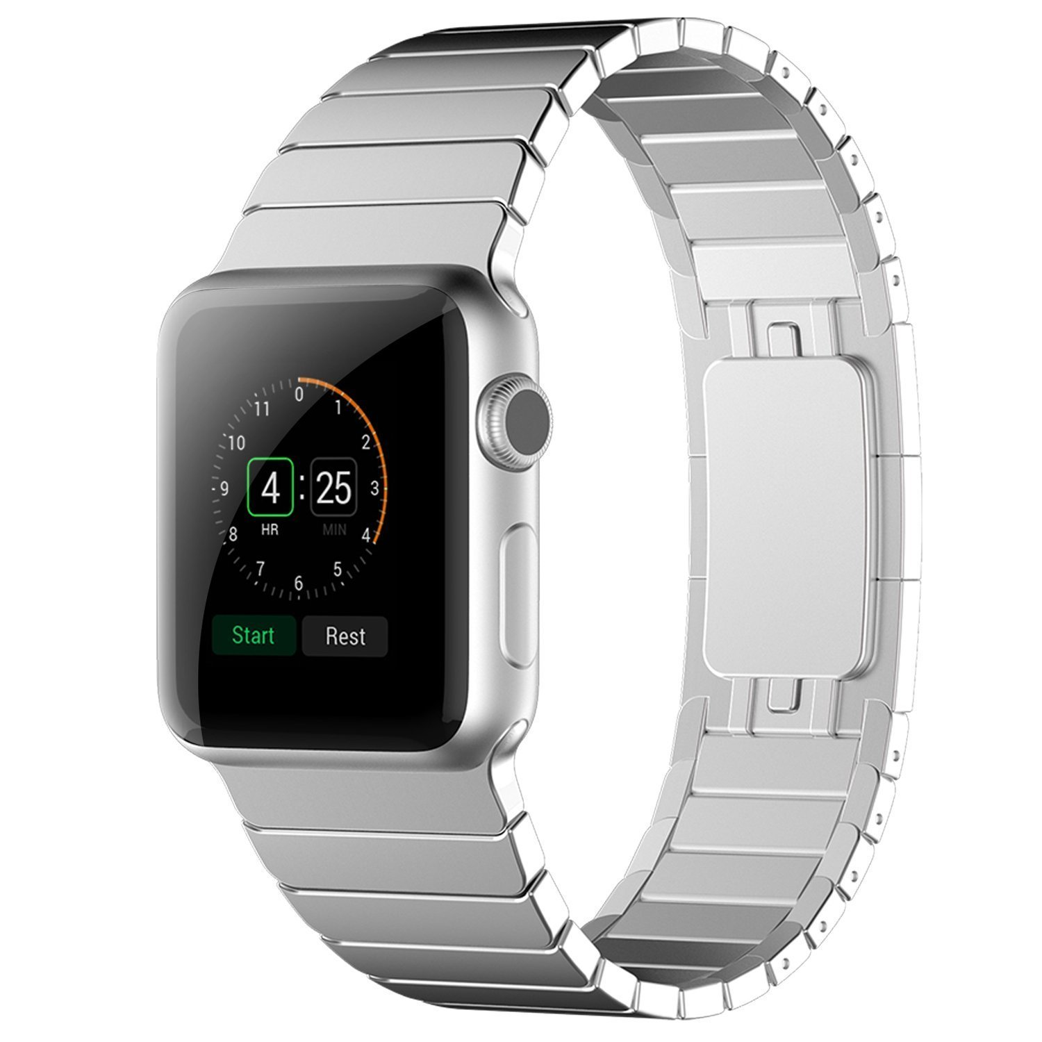 Apple Watch Band,senter® 42mm Link Bracelet for Apple Watch 42cm(need Tools)