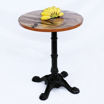 Best Ing Durable Pedestal Four Legs Cast Iron Table Base For Dining Wrought Black