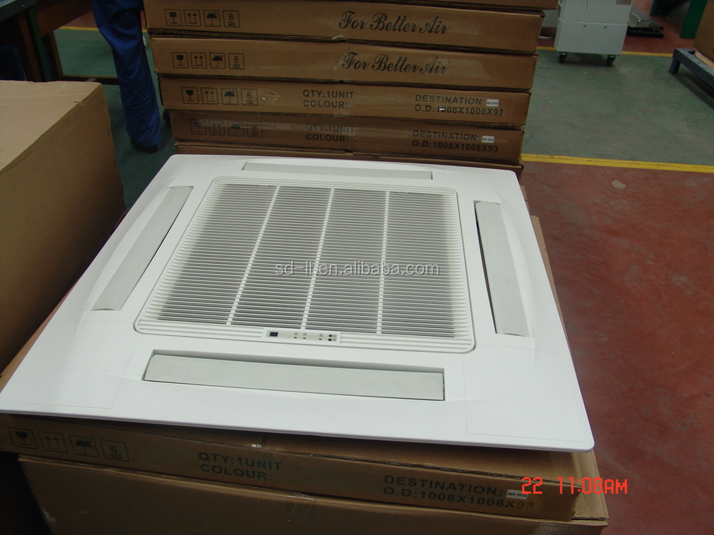 Cassette Chiller Water Fan Coil Unit For Heating Cooling