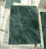 Beautiful China green marble with white veins