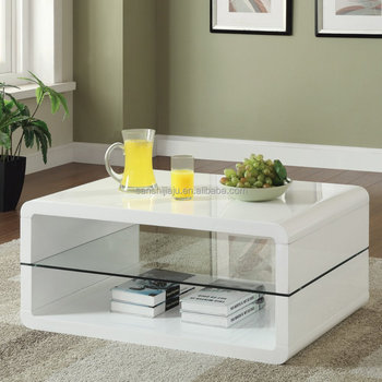 Wholesale High Gloss Mdf Cafe Table,Modern Wood Glass Coffee Table Set    Buy White High Gloss Coffee Table,White Gloss Coffee Table,Swivel White  High ...