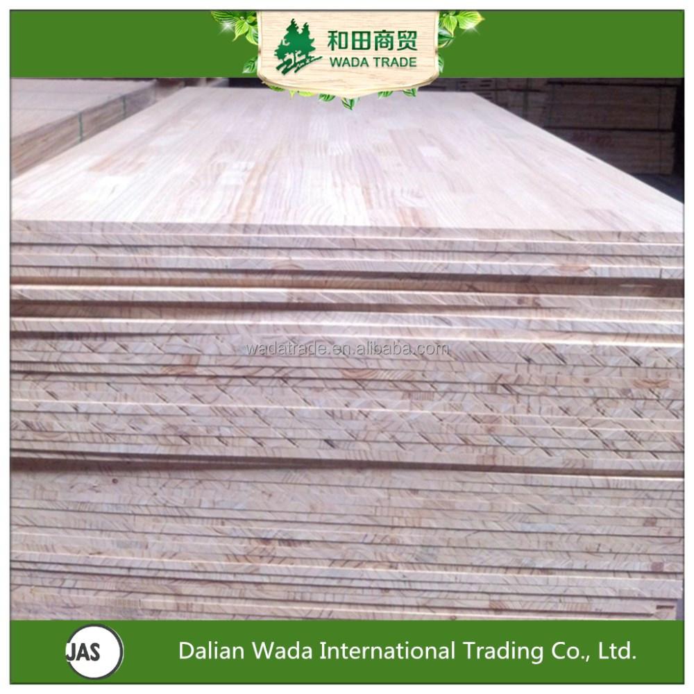 China de pino finger joint de madera para puertas tableros for Finger joint wood doors