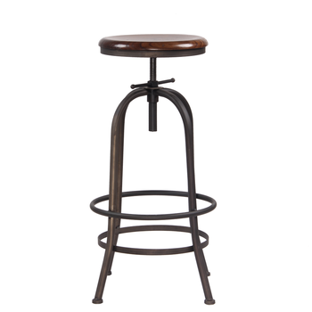 Marvelous Antique Iron Metal Legs Outdoor Wooden Plate Seat Adjustable Swivel Bar Chair Stool Buy Swivel Bar Stool Bar Stool Chair Swivel Product On Inzonedesignstudio Interior Chair Design Inzonedesignstudiocom
