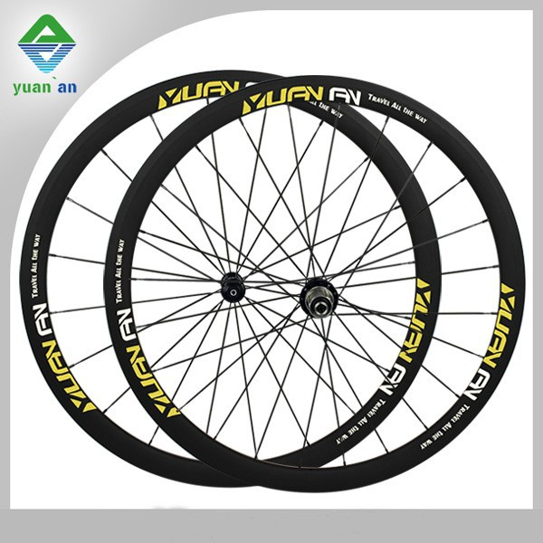 cheap bike parts carbon bike clincher wheels basalt aluminum braking surface carbon wheels 700c cyclocross carbon wheelset