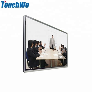 4k 65 inch open frame flat multi touch screen lcd led monitor all in one pc for education advertising player with Android system