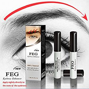 44caed1aad6 Get Quotations · BEST Eyebrow Growth Product Most Effective Growth Serum to  LENGTHEN & THICKEN Eyebrows; FEG is