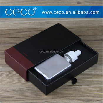 free samples black gift box for rectangle glass dropper bottle 30ml