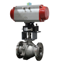 Oil/Water/Gas stainless steel flange connection ball valve and wafer type ball valve