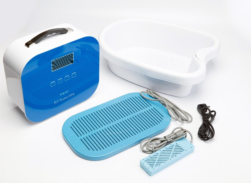 2016 Newest Foot Spa detox Machine making Hydrogen water combine Active oxygen Detox body Rubbish Foot Basin
