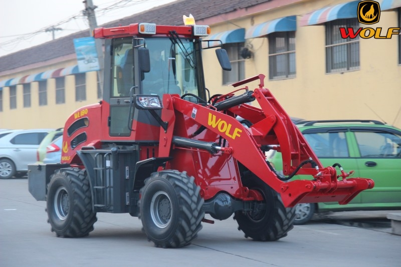 Front end loader ZL18 for farm machine