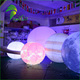 Hot Selling LED Lighted Inflatable Nine Planet Balloon , Inflatable Solar System Planets For Decoration