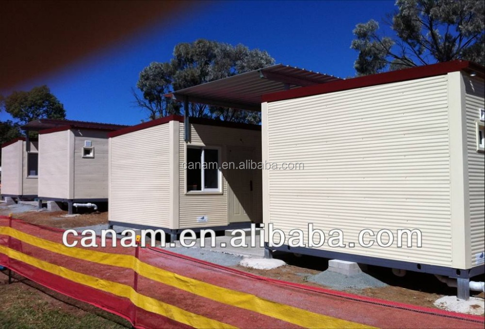 CANAM-china insulated portable modular modern log cabins for sale