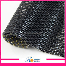 new arrival glass stones women sexy 888 crystal rhinestone mesh for shoes